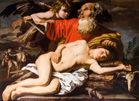 Matthias_Stom_-_Le_sacrifice_d'Abraham